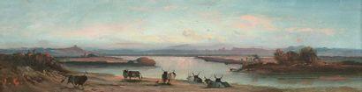 Jean-Baptiste CLESSINGER (1814-1883) Bufflones...