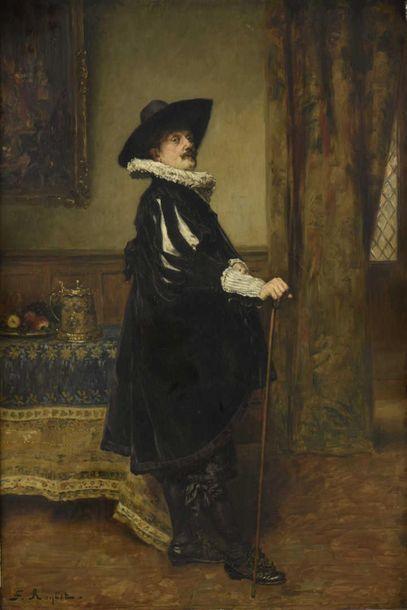 Ferdinand ROYBET (1840-1920) Portrait de...