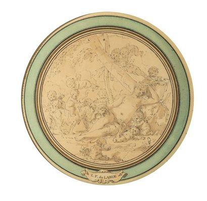 Louis Félix DELARUE (Paris 1730 – 1777) Satyres,...