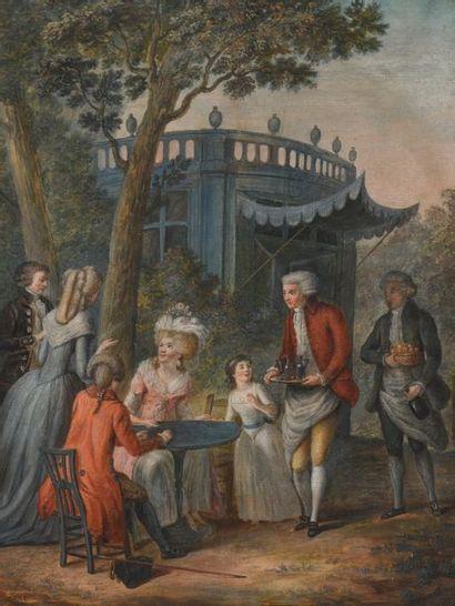 Ecole FRANCAISE vers 1790, entourage de Jean...