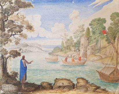 DOROTHEUS DE NEAPOLI, 1643 La Pêche miraculeuse...