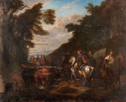 Attribué à Pieter Van BLOEMEN (1657 - 1720)...