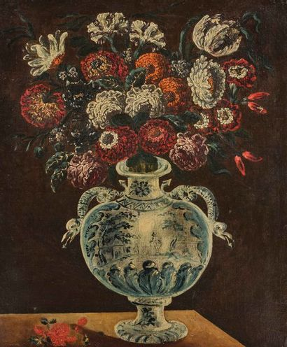 Ecole ESPAGNOLE du XVIIème siècle suiveur...