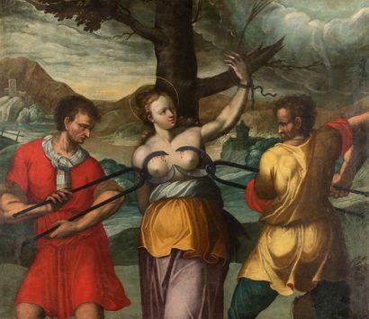 Ecole LOMBARDE du début du XVIIème siècle...