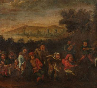 Ecole ITALIENNE du XVIIIème suiveur de Faustino...