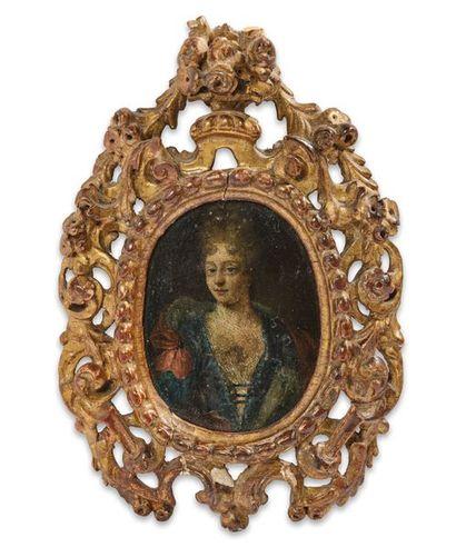 Ecole FRANCAISE du XVIIIème siècle Portrait...