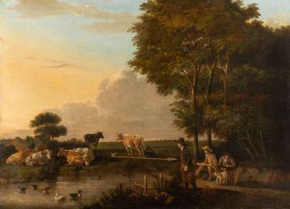 Ecole ANGLAISE de la fin du XVIIIème siècle...