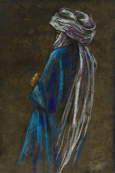 Frédérique MAILLART (1946-)  Portrait de...