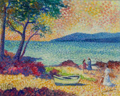 Lucien NEUQUELMAN (1909-1988)  Le Pinet près...