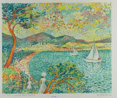 NEUQUELMAN Lucien (1909-1988)  Paysages  Deux...