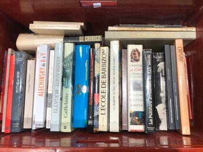 Panier de livres d'art : Ecole de BARBIZON,...