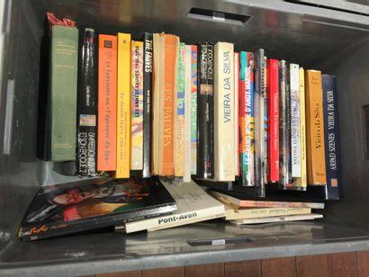 Panier de livres d'art : FAUVISME, VIERA...