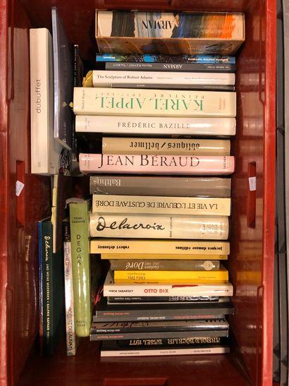 Panier de livres d'art : BAZILLE, ARMAND,...