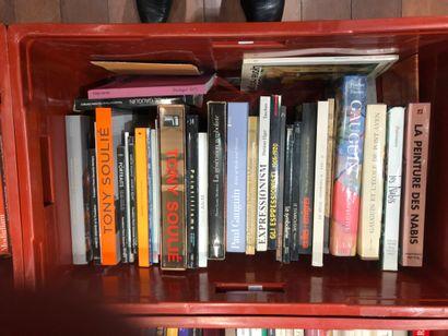 Panier livres d'art : GAUGIN, NABIS, SOULIE...
