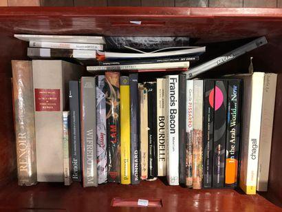 Panier de livres d'art : RENOIR, Wifredo...