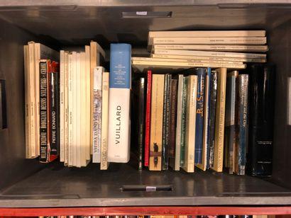 Panier de livres d'art : DUBUFFET, SERUSIER,...