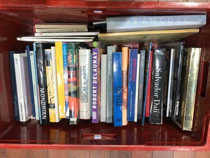 Panier livres d'art : PICABIA, Egon SCHIELE,...