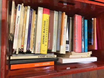 Panier de livres d'art : Henri MATISSE, mouvement...