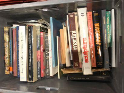 Panier livres d'art : JOURDAIN, MORETTI,...