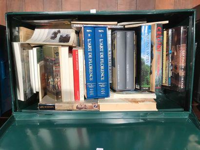 Panier de livres d'art : Art de Florence,...