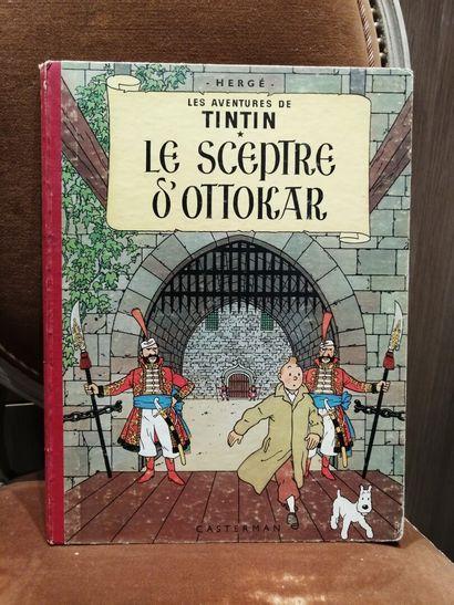 TINTIN, Le Sceptre d'Ottokar, édition 1947...