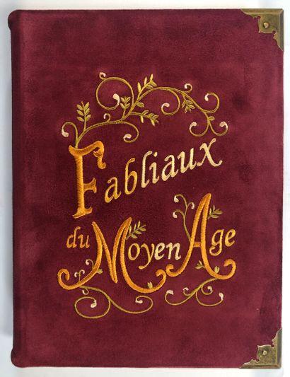 FABLIAUX du Moyen Age. Miniatures de Y.Vaulpré...
