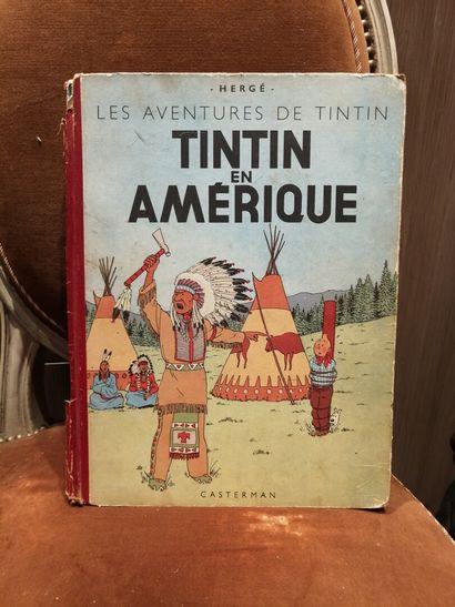 TINTIN, Les aventures de Tintin en Amérique,...