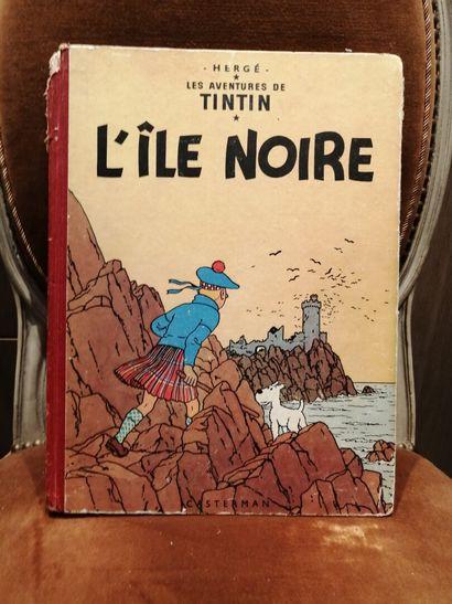 TINTIN : L'Ile noire copyright 1947 imp en...