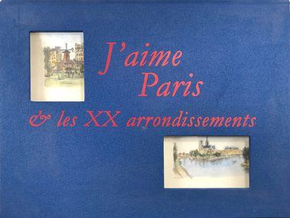FARGUE (L.P.). J'aime Pariss et les XX arrondissements....