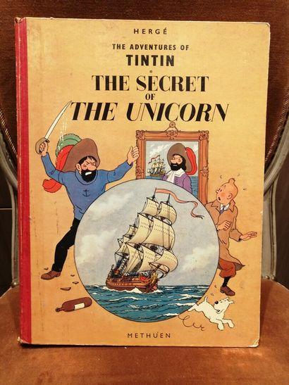 TINTIN The secret of the Unicorn 1959 imp...