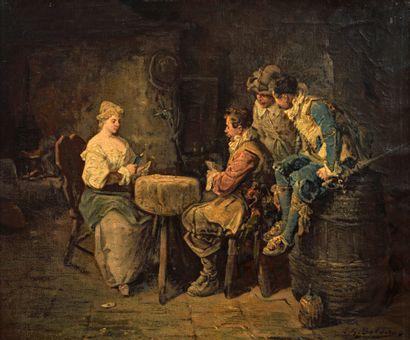 Luigi G. BALDERO  (Actif à la fin du XIXème...