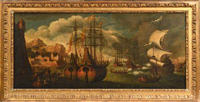 Attribué à Adrien van der CABEL (1630-1705)...