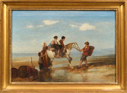 Attribué à Eugène LE POITEVIN (1806 - 1870)...