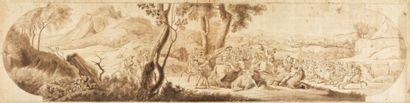Ecole FRANCAISE de la fin du XVIIIème siècle...