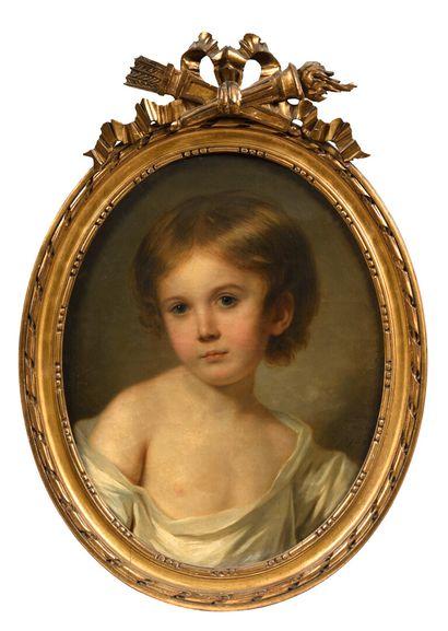L.L. SCHILLY (actif entre 1770 et 1793)  Portrait...