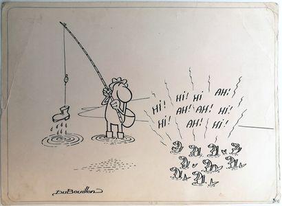 Alain BOUILLON (1943) dit DUBOUILLON  LA...