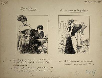 Albert GUILLAUME (1873-1942)  CONDOLEANCES...