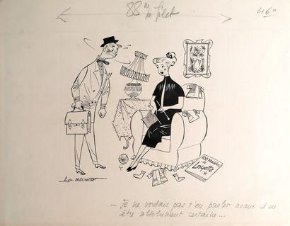 Albert Georges BADERT (1914-1994)  LA NOUVELLE...