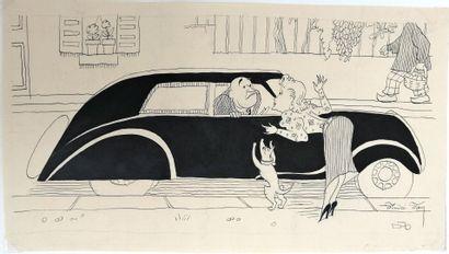 André Lucien Léon FOY (1886-1953)  L'ADIEU...