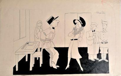 André Lucien Léon FOY (1886-1953)  RAISON...