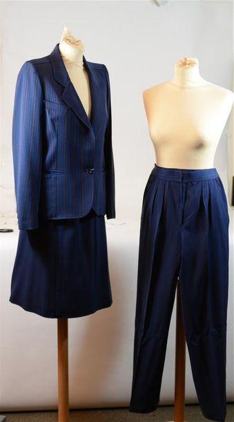 UNGARO PARALLELE: Costume 3 pièces: pantalon,...