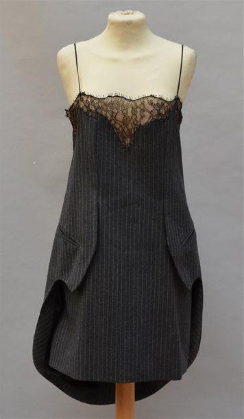 ALEXANDER WANG: Robe style nuisette déstructurée...