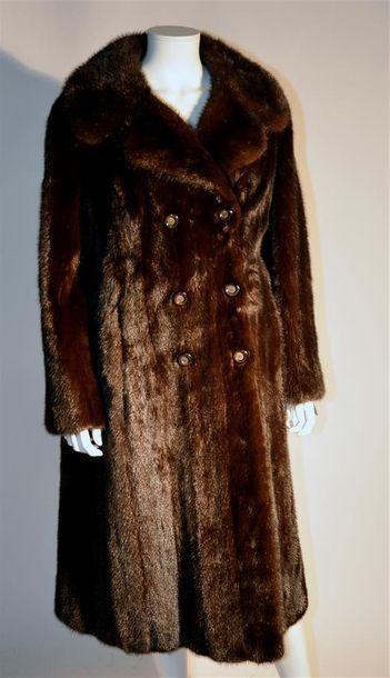 REINER : Manteau de vison dark (petites ...