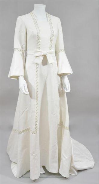 MAGGY ROUFF : Robe de mariée en grain de...