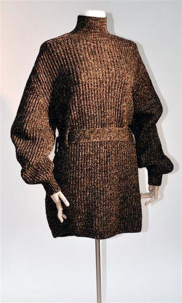 JEAN-PAUL GAULTIER : Pull en laine chiné...