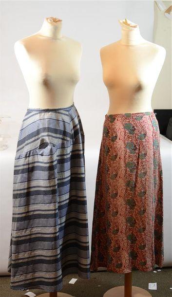 2 jupe griffées Y'S (Taches)