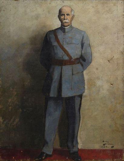 André DEVAMBEZ (1867 1944)  Portrait de Philippe...