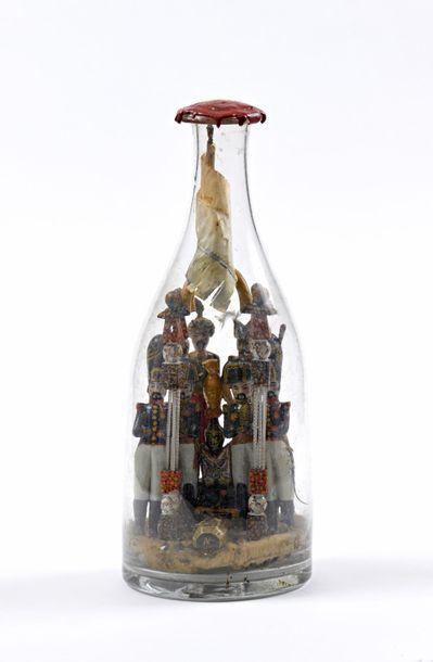 «Retour des Cendres» : bouteille en verre...