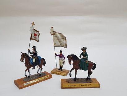 -Cavalier, Porte étendard Vendée 1793.  -Madame...