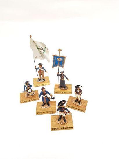 -Porte étendard de compagnies bretonnes....